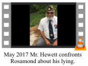 May 2017 Mr. Hewett confronts Rosamond about his lying.
